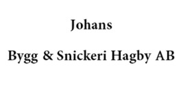 Johans Bygg & Snickeri Hagby AB logo