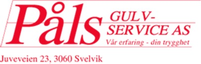 Påls Gulvservice AS logo