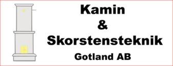 Kamin och Skorstensteknik Gotland, AB logo