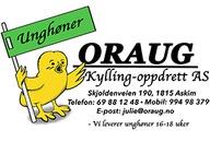 Oraug Kylling-Oppdrett AS logo
