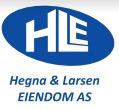 Hegna & Larsen Eiendom AS logo