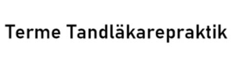 Terme Tandläkarepraktik logo