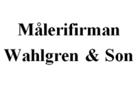 Målerifirman Wahlgren & Son logo