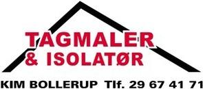 Tagmaler Kim Bollerup ApS logo