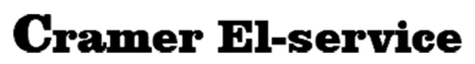 Cramer El-service ApS logo
