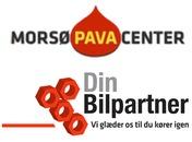 Din Bilpartner - Morsø Pavacenter ApS logo