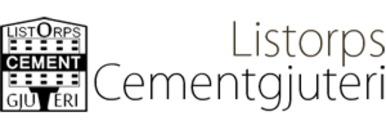 Listorps Cementgjuteri logo