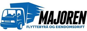 Majoren Flyttebyrå Oslo AS logo
