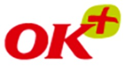 OK Plus Holsted logo