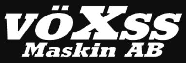 vöXss Maskin AB logo