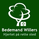 Bedemand Willers Slagelse logo