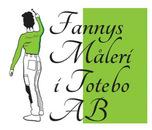 Fannys Måleri I Totebo AB logo