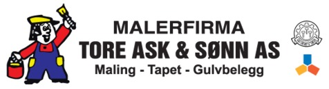 Malerfirmaet Tore Ask & Sønn AS logo
