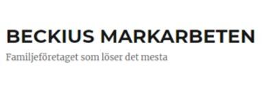 Beckius Markarbeten logo