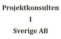 Projektkonsulten I Sverige AB logo