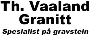 Th Vaaland Granitt AS logo