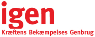 Kræftens Bekæmpelses Genbrug logo