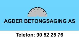 Agder Betongsaging AS logo