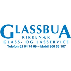 Glassbua Kirkenær AS logo
