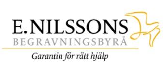E Nilssons Begravningsbyrå AB logo