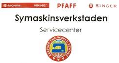 Symaskinsverkstaden Husqvarna Pfaff Singer logo