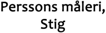 Perssons Måleri, Stig logo