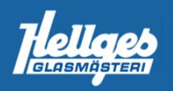Hellges Glasmästeri AB logo