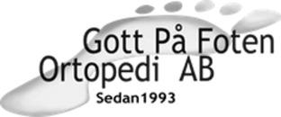 Gott På Foten logo