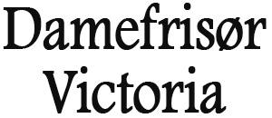 Victoria Damefrisør ANS logo