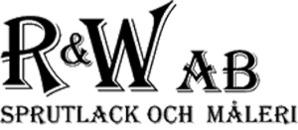 R & W Sprutlack och Måleri, AB logo