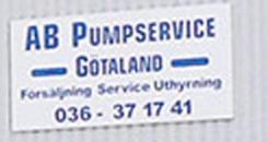 Pumpservice Götaland AB logo