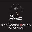 Skrädderi Hanna, Kemtvätt & Skor mottagning logo