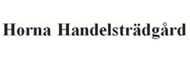 Horna Handelsträdgård logo