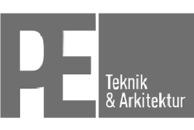 PE Teknik & Arkitektur logo