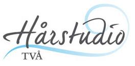 Hårstudio TVÅ logo