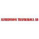 Alfredssons Trafikskola logo