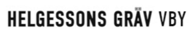 Helgessons Gräv Vby AB logo