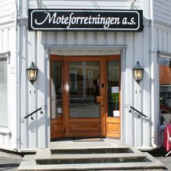 Moteforretningen AS logo