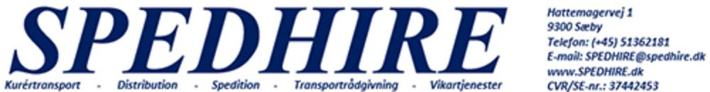 Spedhire logo