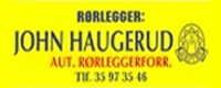 Rørlegger John Haugerud logo