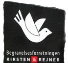 Begravelsesforretningen Kirsten & Rejner logo