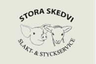 ST. Skedvi slakt & styckservice logo