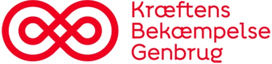 Kræftens Bekæmpelse Genbrug logo