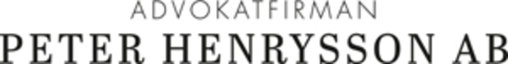 Advokatfirman Peter Henrysson AB logo