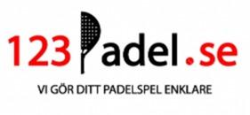 123Padel.se logo