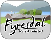 Fyresdal Kurs og Leirsted AS logo