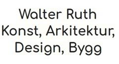 Walter Ruth - Konst, Arkitektur, Design, Bygg logo