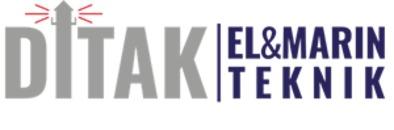 DITAK El & Marinteknik AB logo