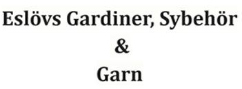 Eslövs Gardiner, Sybehör & Garn logo