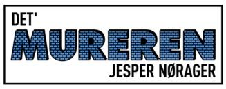 Det' Mureren Jesper Nørager ApS logo